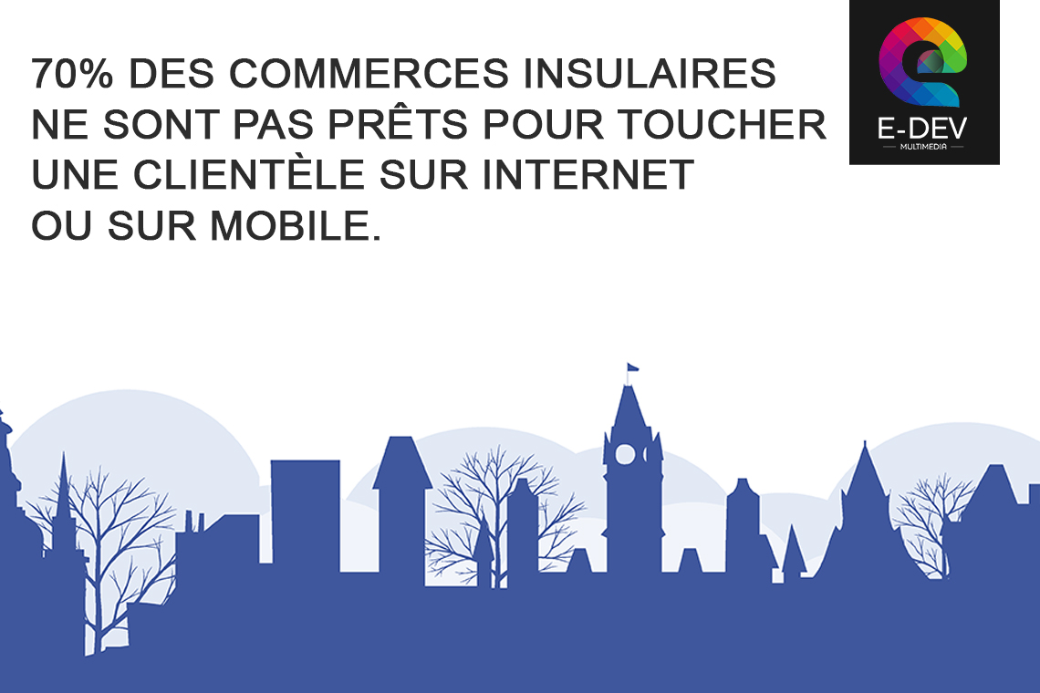 commerces et artisans qui ne sont pas prêts pour unr présence sur internet et mobile