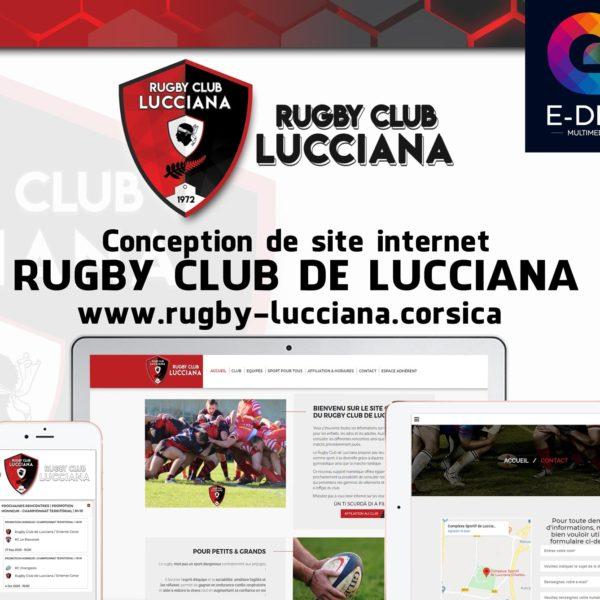Mockup site web RCL logo